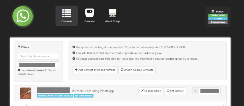 WhatsSpy Public: Datenschutz bei WhatsApp? So einfach ist es, Freunde zu überwachen 2