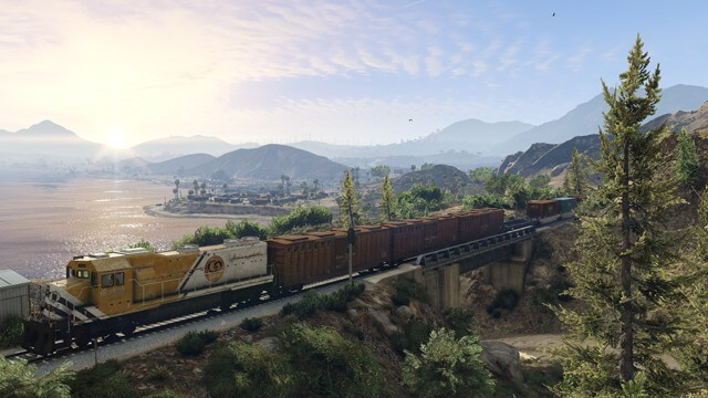Screenshot aus der GTA 5 PC-Version