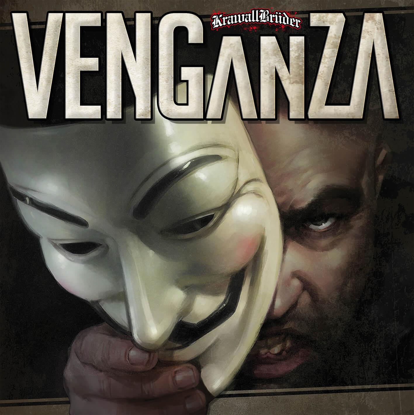 KRAWALLBRÜDER: Das Album Venganza chartet auf Platz 3 1