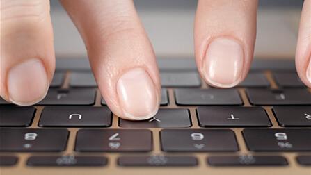 NewMacBook-Tastatur