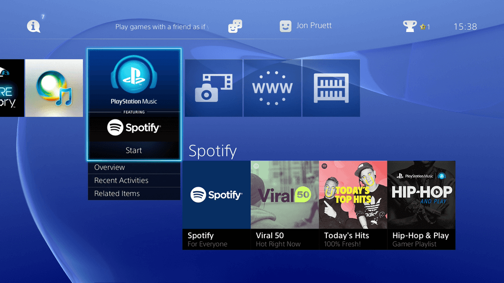 PlayStation Music: Spotify ab sofort verfügbar 1