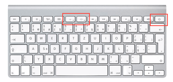 Apple Wireless Keyboard mit beleuchteten Tasten 1