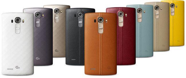 LG G4 Smartphone aus Leder