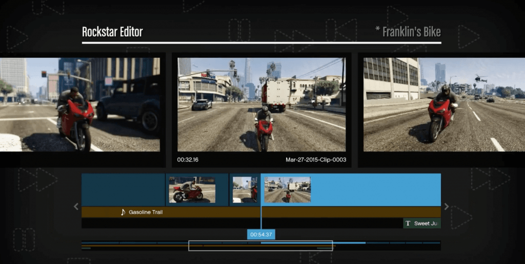 Grand Theft Auto V Editor (PC)