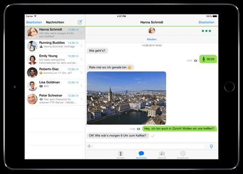 Threema: iPad-Version ab sofort verfügbar 1