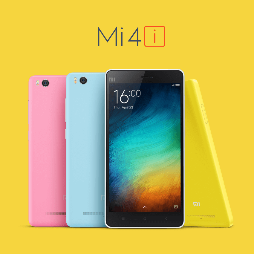 Xiaomi Mi 4i Smartphone (Indien)
