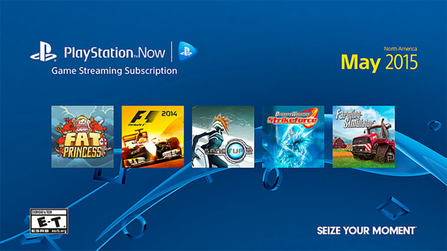 PlayStation Now PSNow