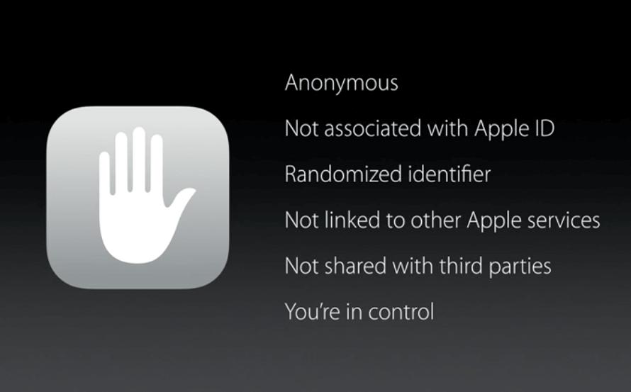 iOS 9 - Privatsphäre