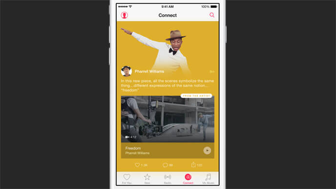 Apple Music - Connect