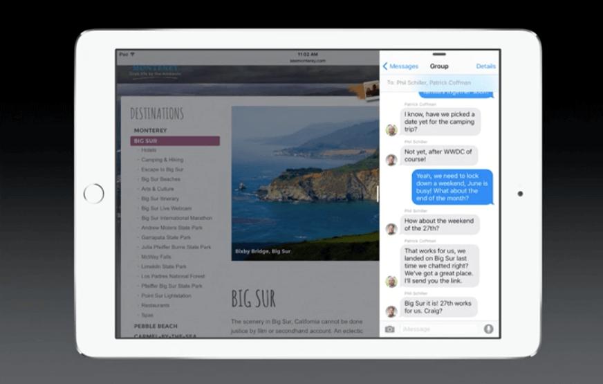 iOS 9 - Multitaskting