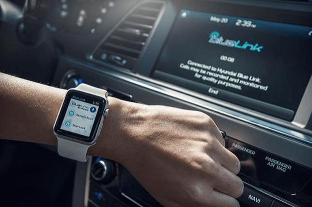 Jetzt kannst Du deinen Hyundai mit der Apple Watch steuern - Hyundai Blue Link 4