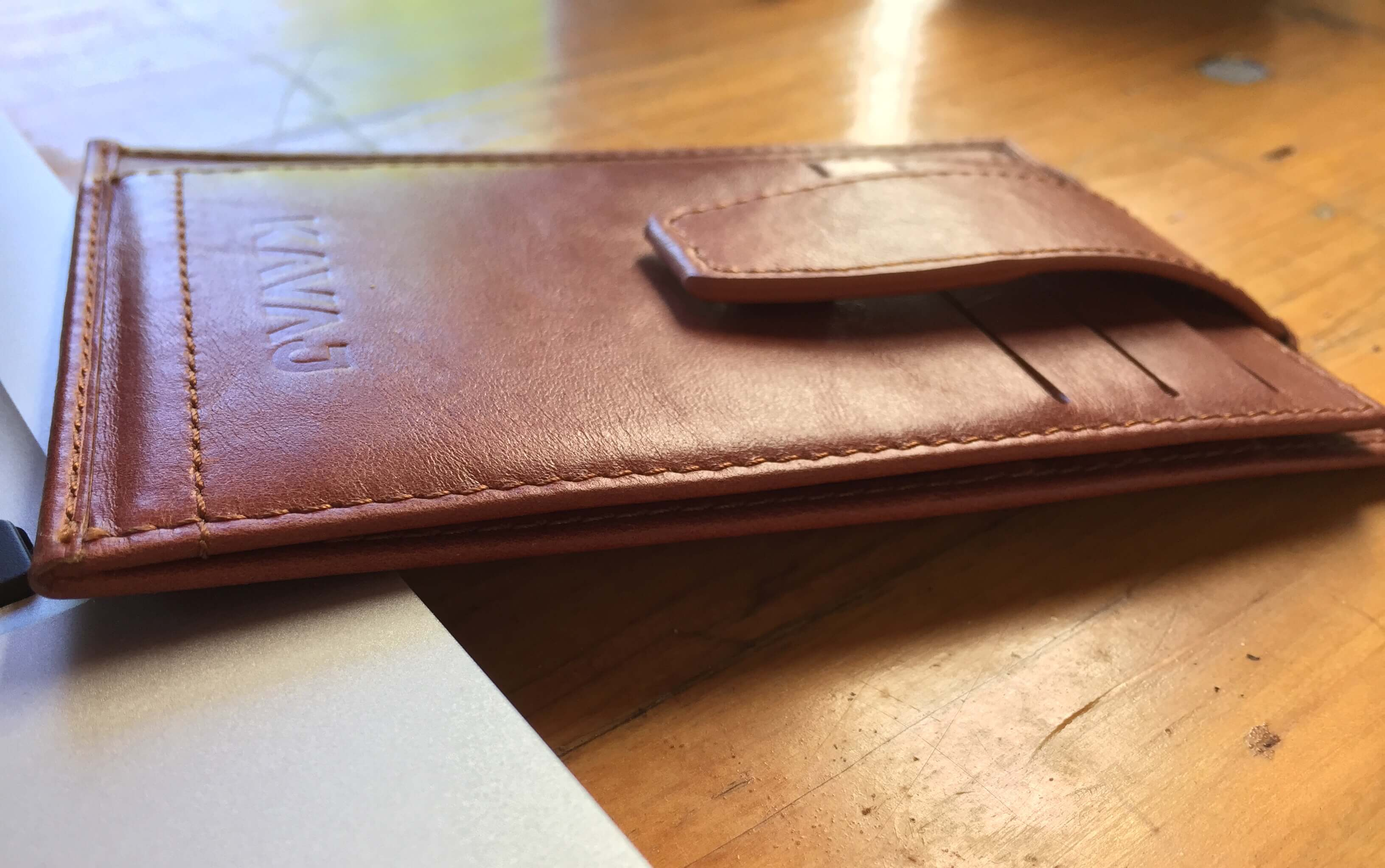 Geldbeutel von KAVAJ - In Cognac-Braun und Schwarz erhältlich