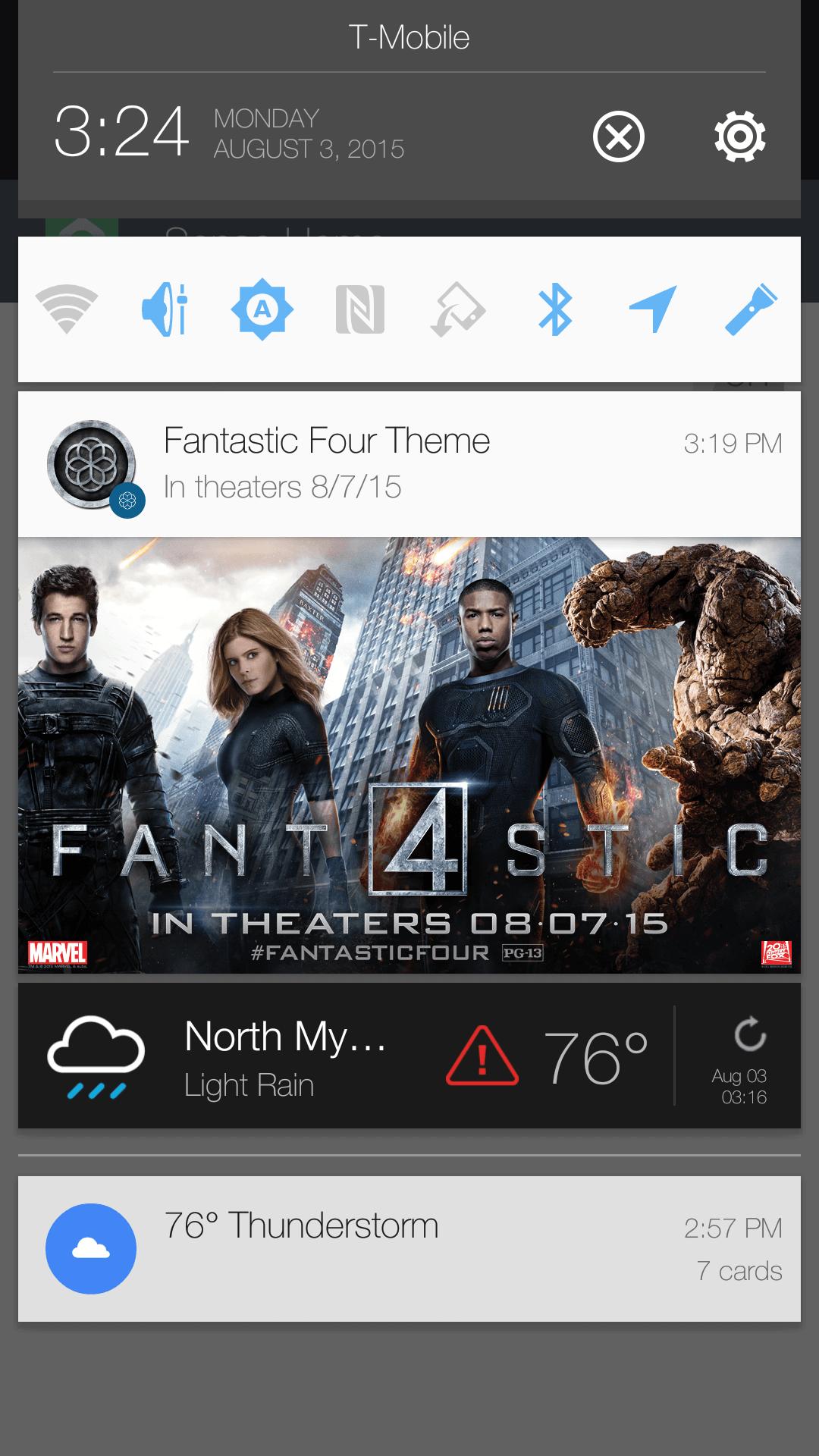 Werbung bei HTC Sense