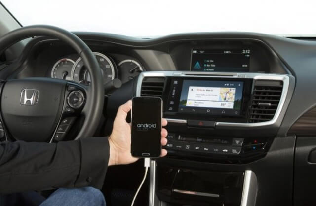 Honda Accord 2016 - Apple CarPlay und Android Auto