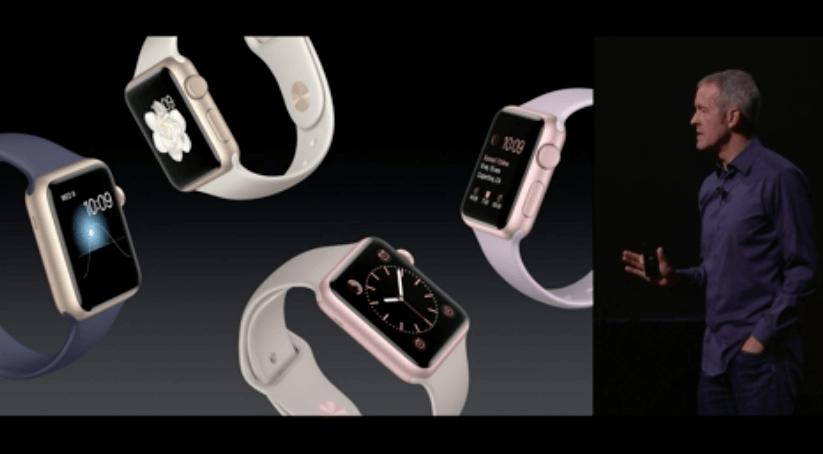 Apple Event: Apple stellt WatchOS 2 vor 3
