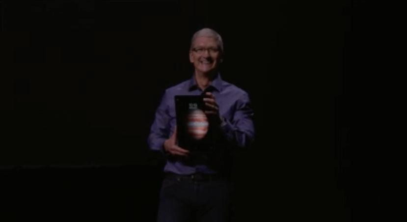 iPad Pro, Apple Event