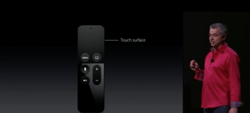 AppleTV, Fernbedienung