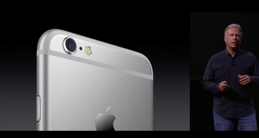 Apple iSight, iPhone 6s, iPhone 6s Plus