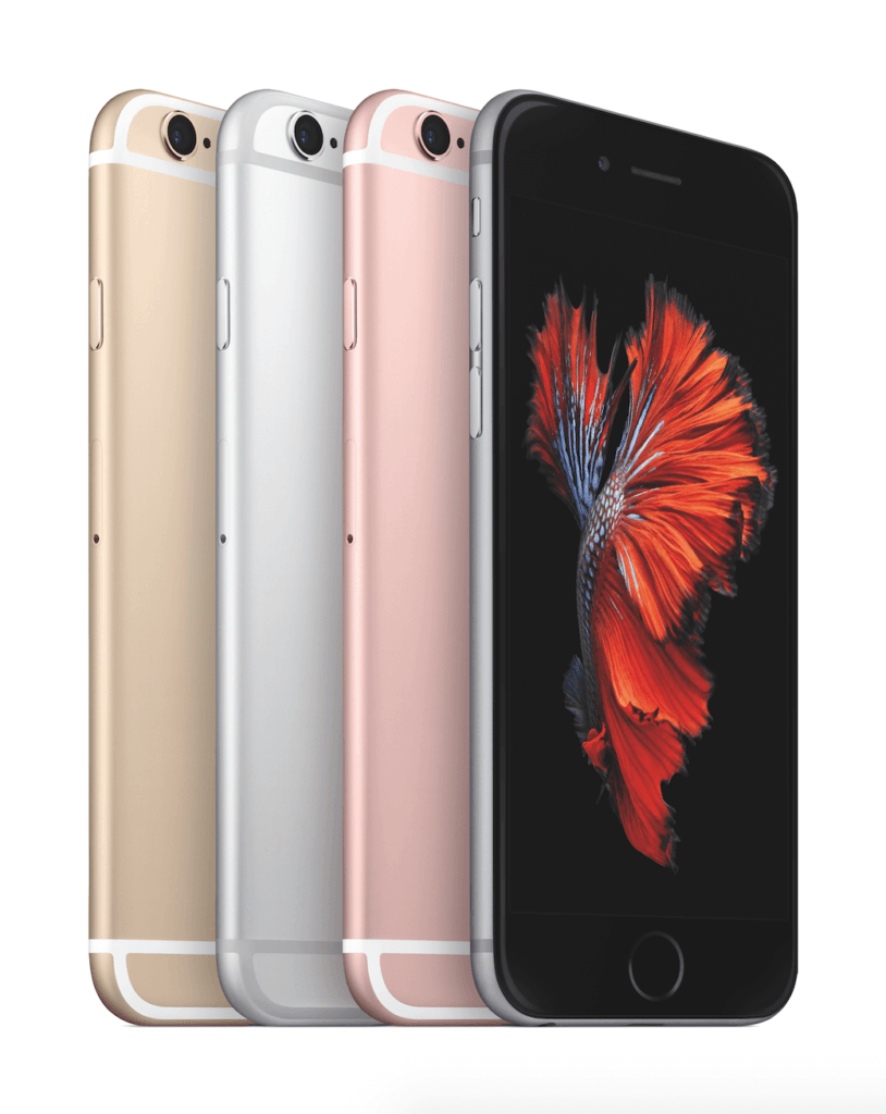 Das iPhone 6s in allen Farben