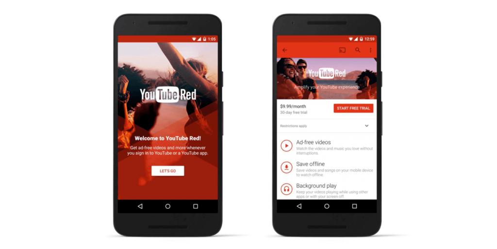 YouTube Red - Premium-Modell mit fragwürdigen Bedingungen