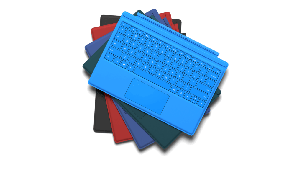 Microsoft Surface Pro 4 Zubehör (Type Cover)