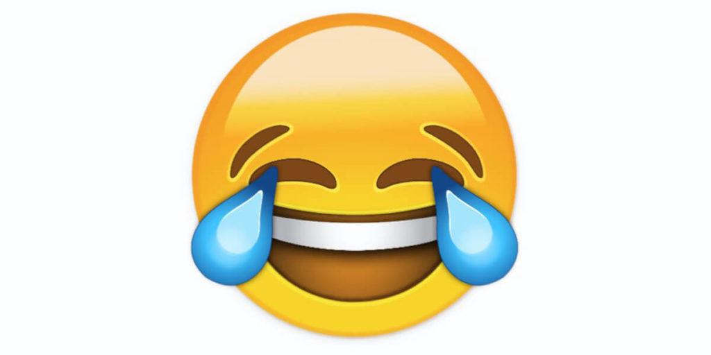 Ein lachender Emoji ist das Wort des Jahres