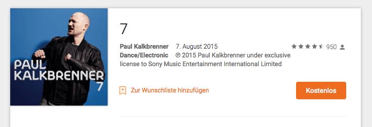 Paul Kalkbrenner - Album 7