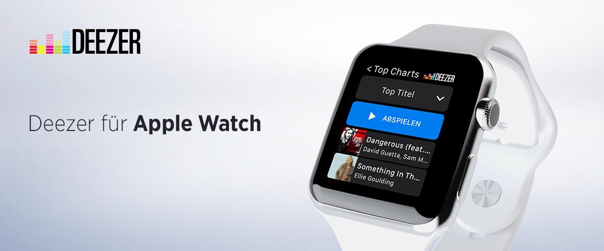 Deezer App für die Apple Watch