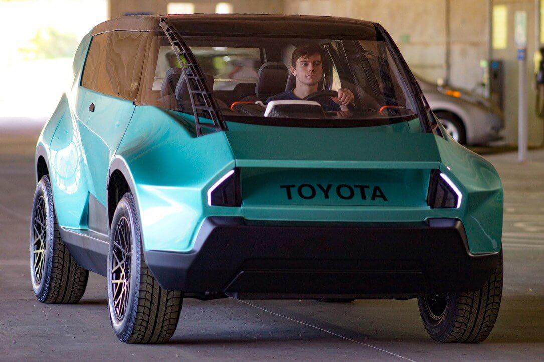 Toyota zeigt neues Elektroauto mit außergewöhnlichem Design 2