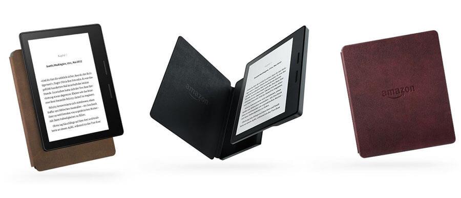 Amazon Kindle Oasis: Neuer E-Reader mit Akkuhülle 1