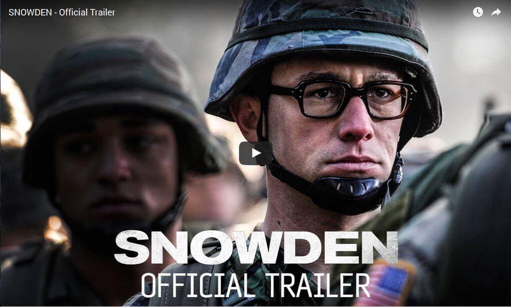 Snowden: Offizieller Trailer zur Geschichte veröffentlicht 1