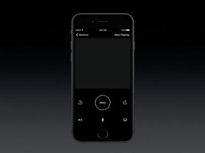 tvOS - iPhone App (Apple Remote)