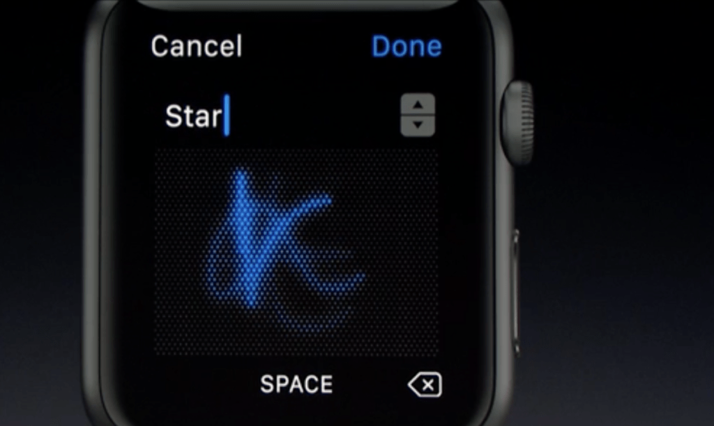 watchOS 3 - Scribble