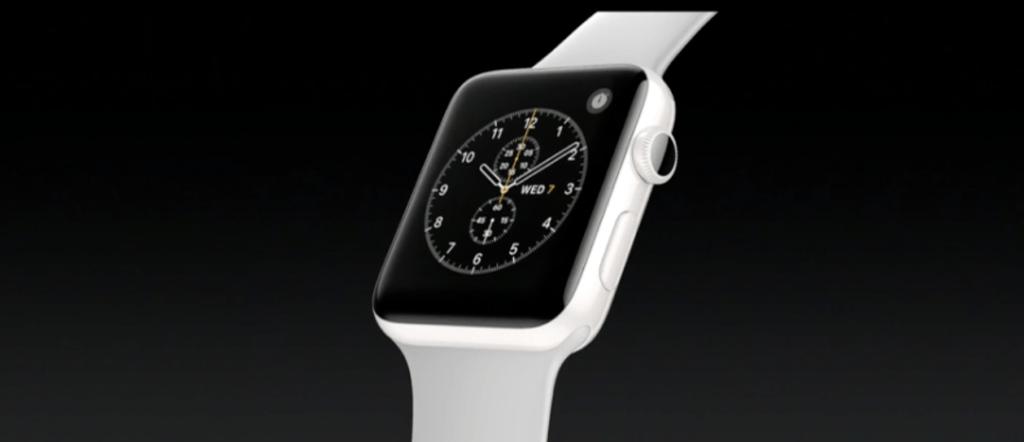 Apple Watch Series 2 aus Keramik