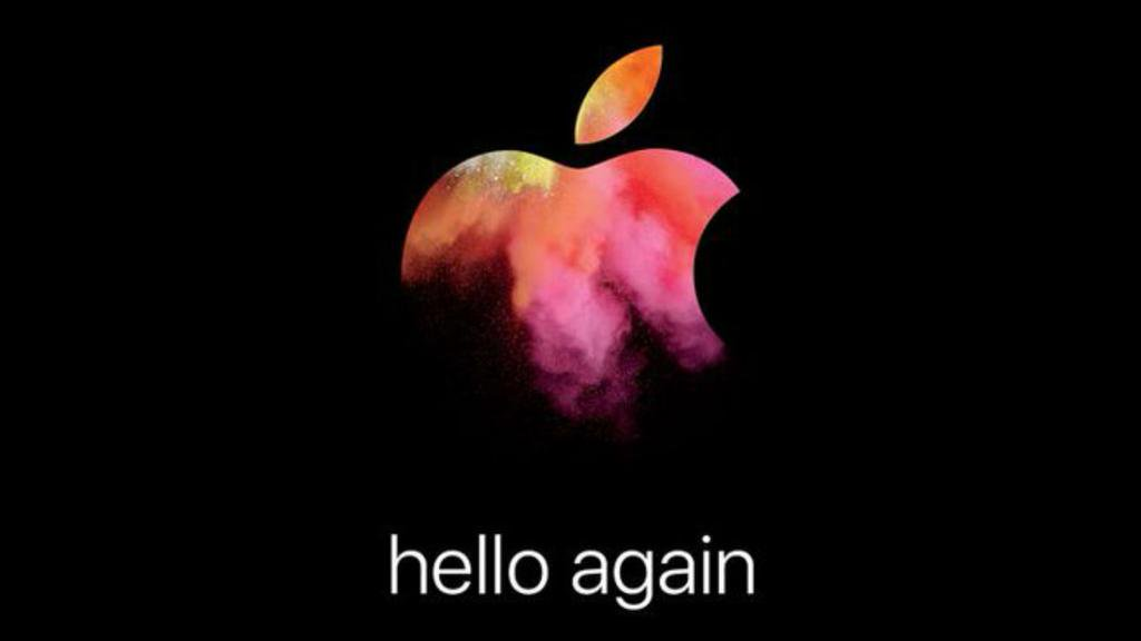 Apple Event - hello again