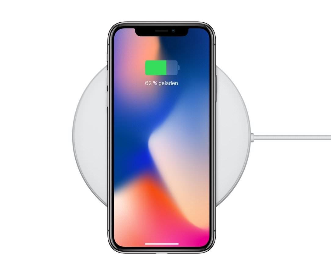 Apple iPhone X - Wireless Charging über QI