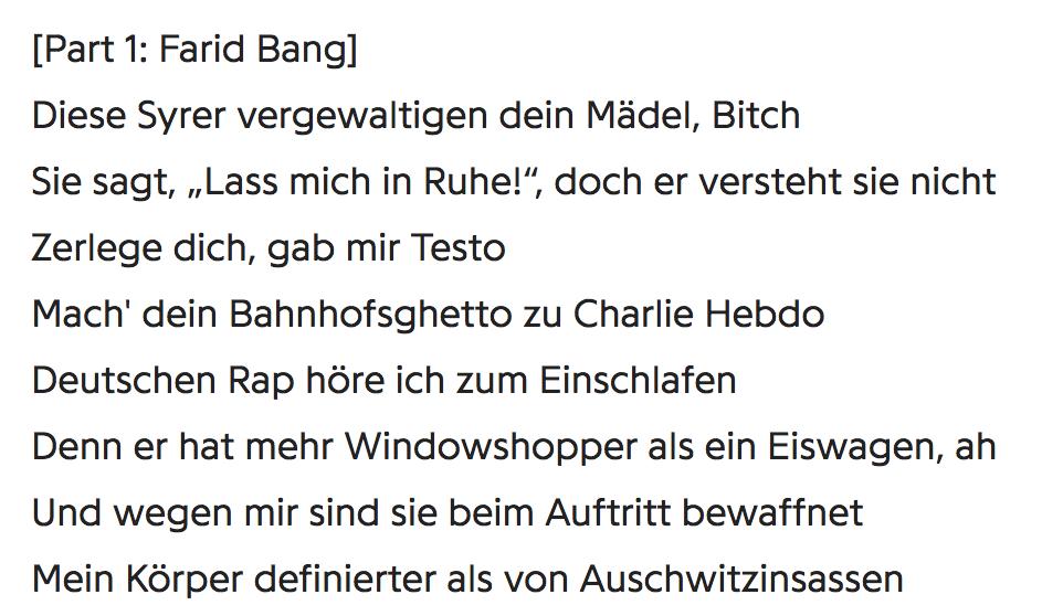 Kollegah & Farid Bang - Track 0815