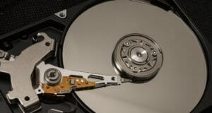 Oldschool Festplatte (Hard-Disk)