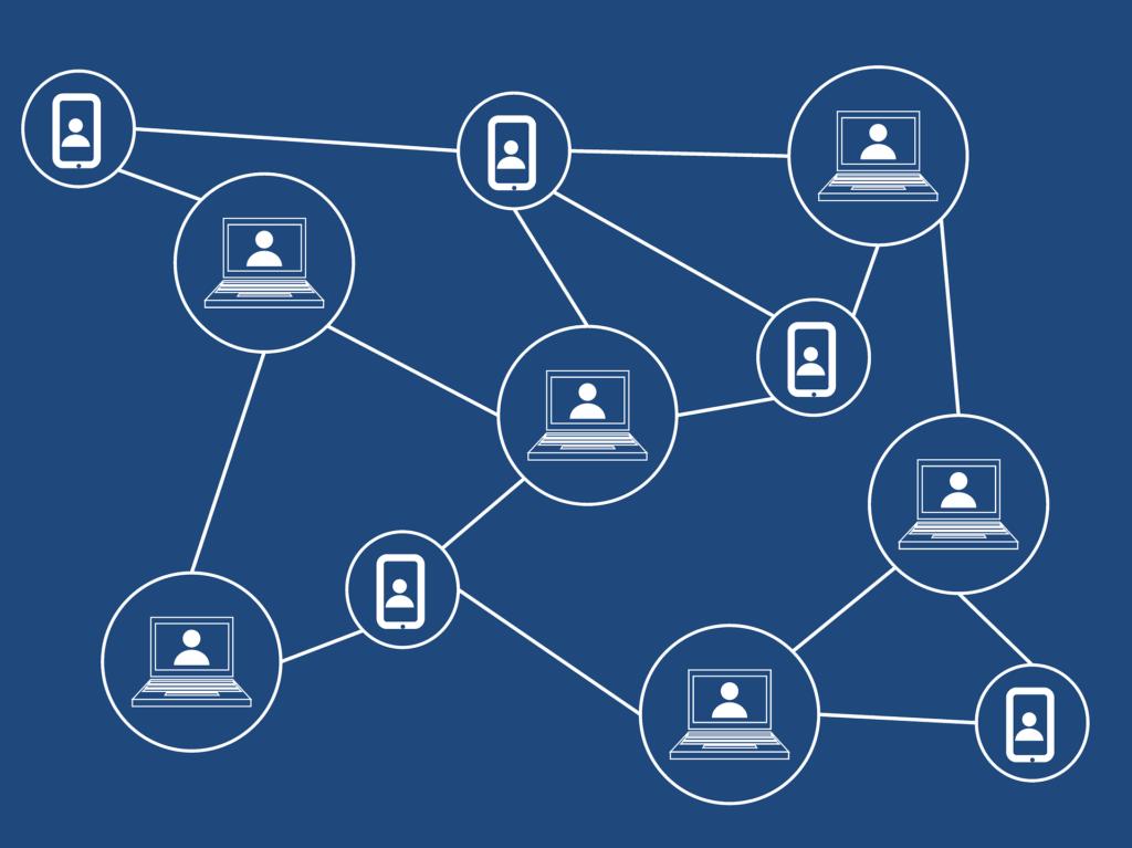 Blockchain Symbolbild (Bildquelle: Tumisu/Pixabay - CC0)