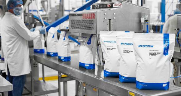 MyProtein Produktion