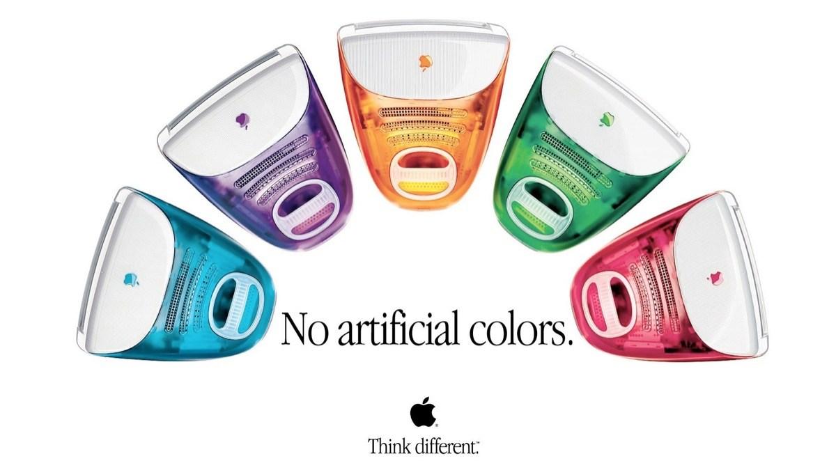 Apple 1. iMac - Alle Farben