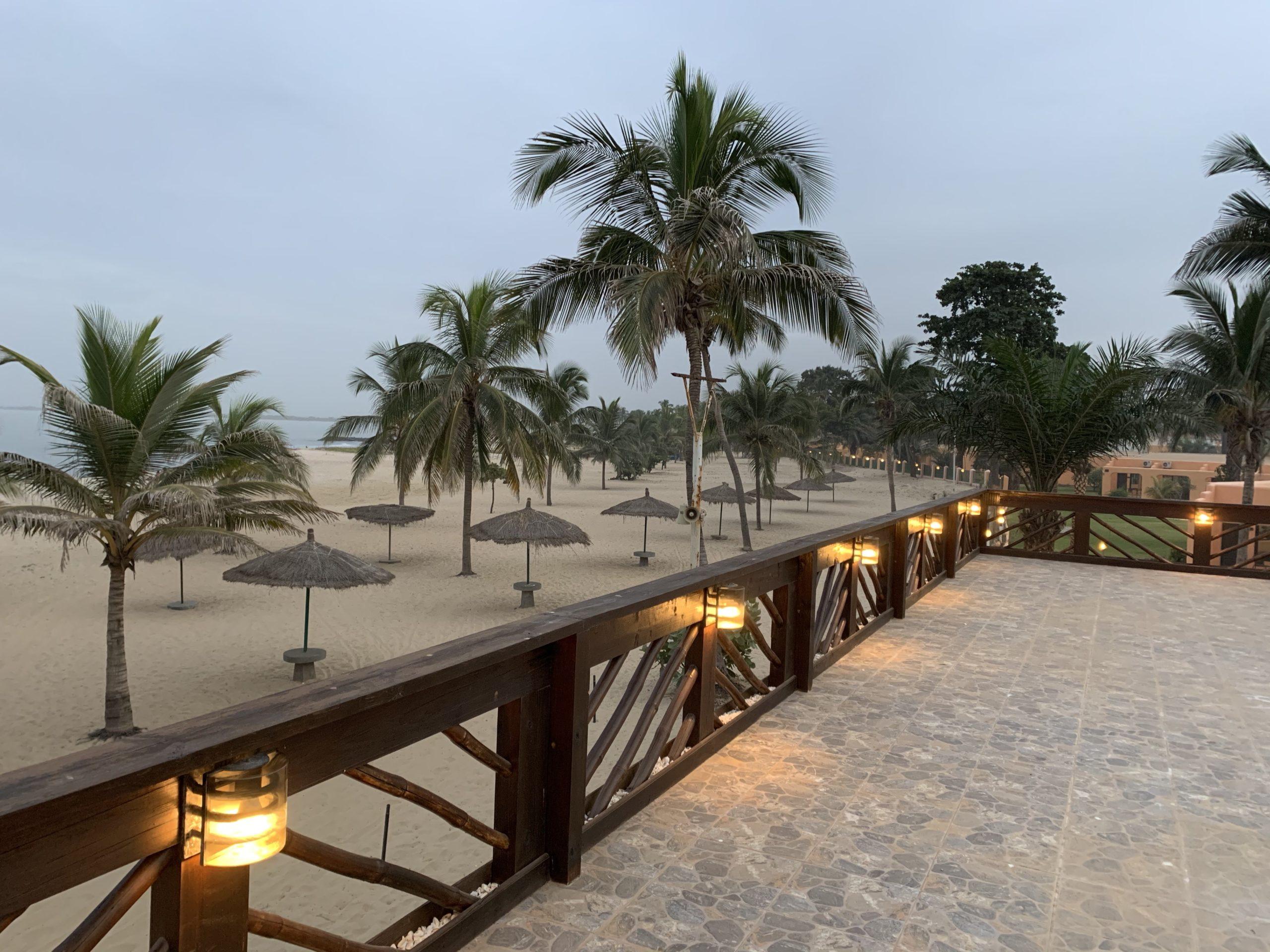 Gambia Reisebericht - Zu sehen: Strand und das Meer an der westafrikanischen Küste