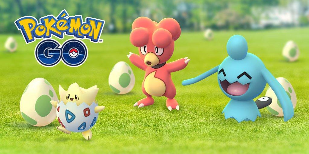 Pokémon GO - Ei-Spektakel (Egg Event)