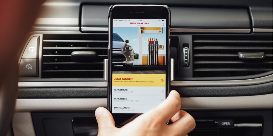 SmartPay: Shell ermoeglicht Tanken per App