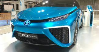 Toyota Wasserstoffauto
